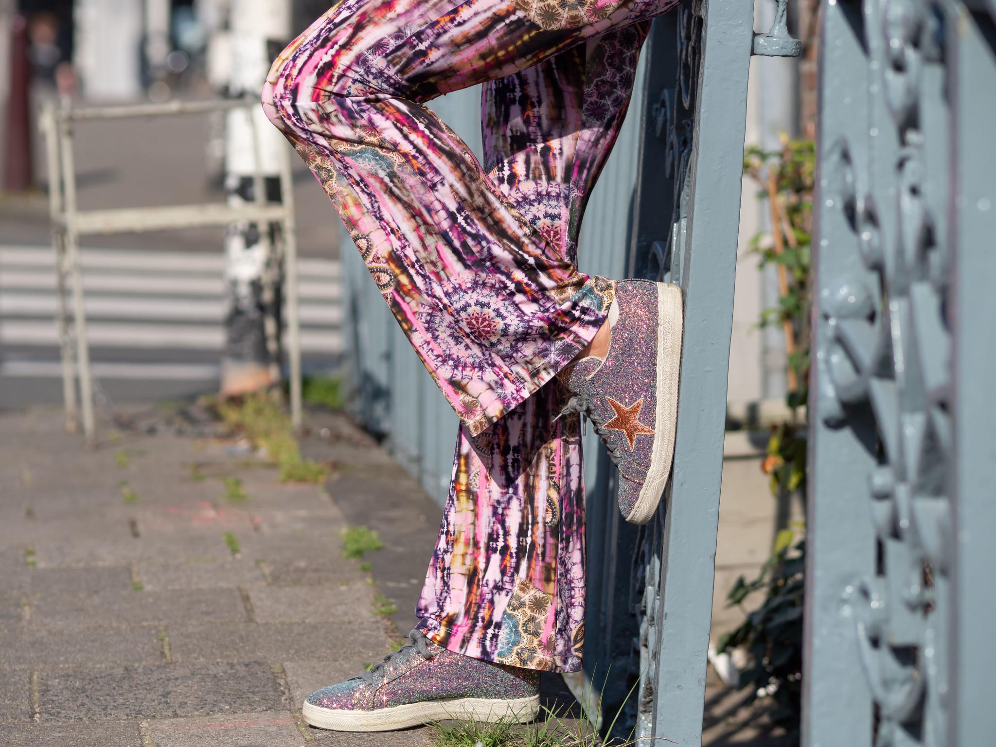 TESSA KOOPS FLARE LALIQUE PANTS