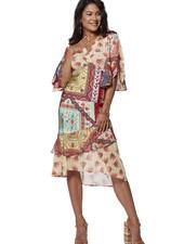 TESSA KOOPS FELINE JARDINI DRESS