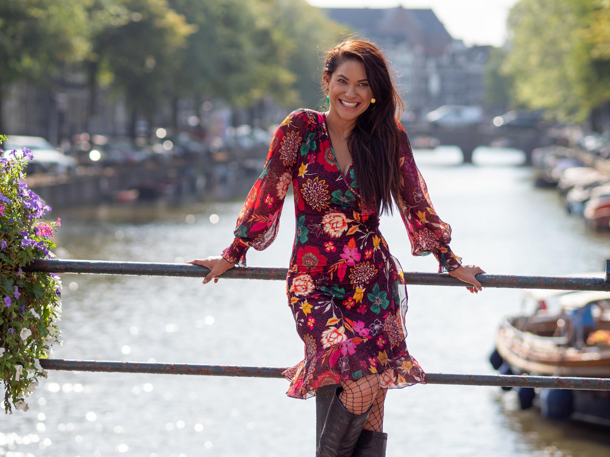 TESSA KOOPS EDITA FLOWER KLEID