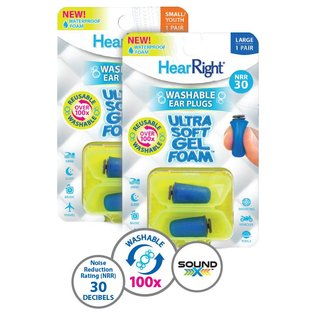 SleepRight HearRight Ultra soft Ear Plugs oordoppen