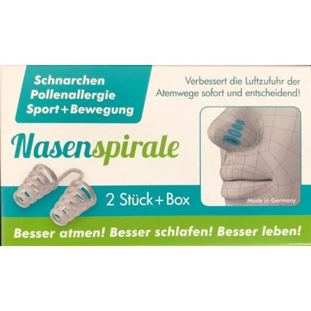 Neusspreider met handige opbergbox - Anti snurk