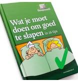 Slaapcoach Wat je moet doen om goed te slapen - Slaapboekje
