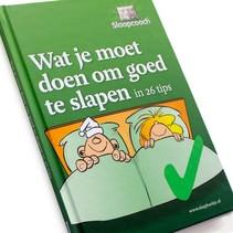 Wat je moet doen om goed te slapen - Slaapboekje