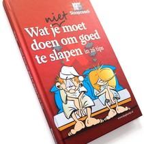 Wat je niet moet doen om goed te slapen - Slaapboekje