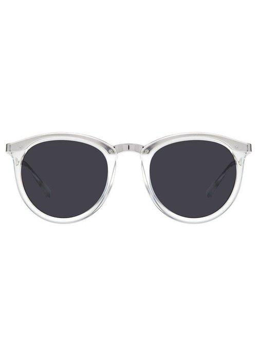 Le Specs No Smirking Clear Silver