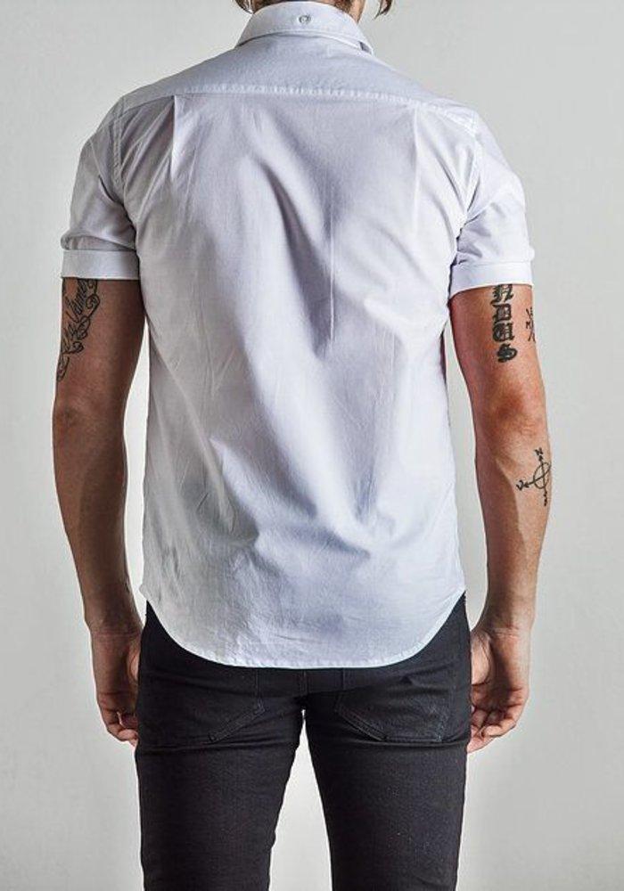 Herrman Short Sleeved Shirt White