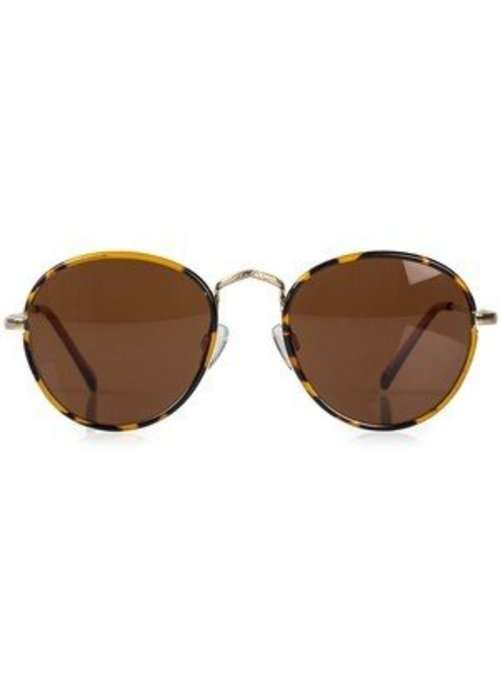 Le Specs Zephyr Tortoise Brown Mono Lens