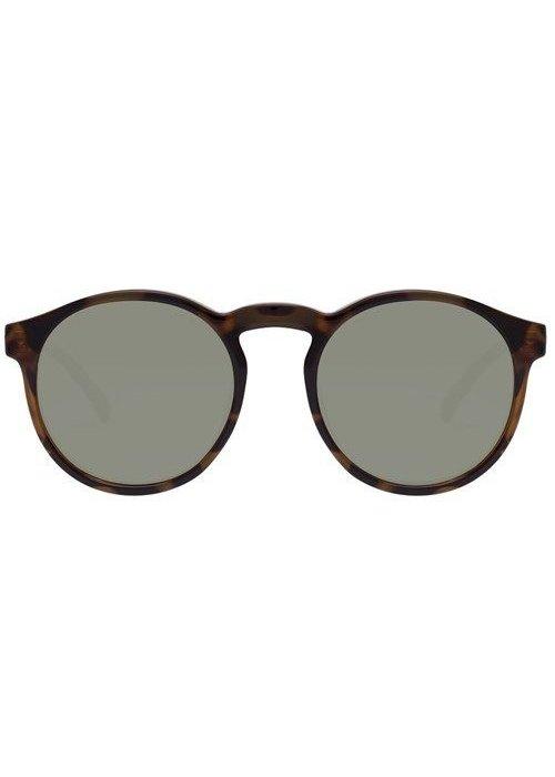 Le Specs Cubanos Milky Tort Khaki Mono Lens Polarized