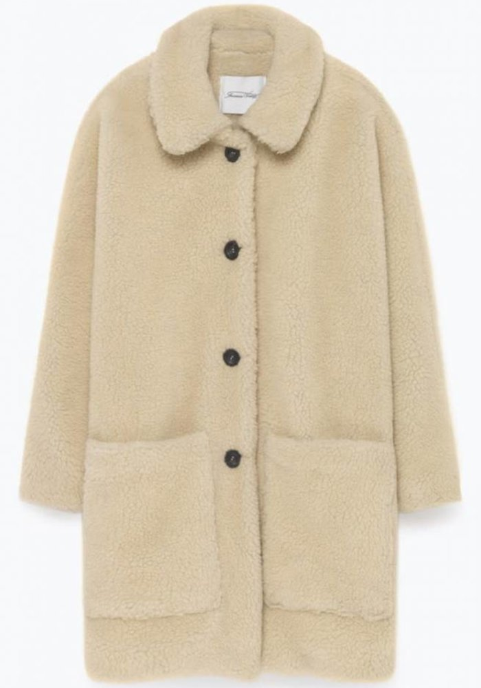 Patidole Teddy Coat Cream
