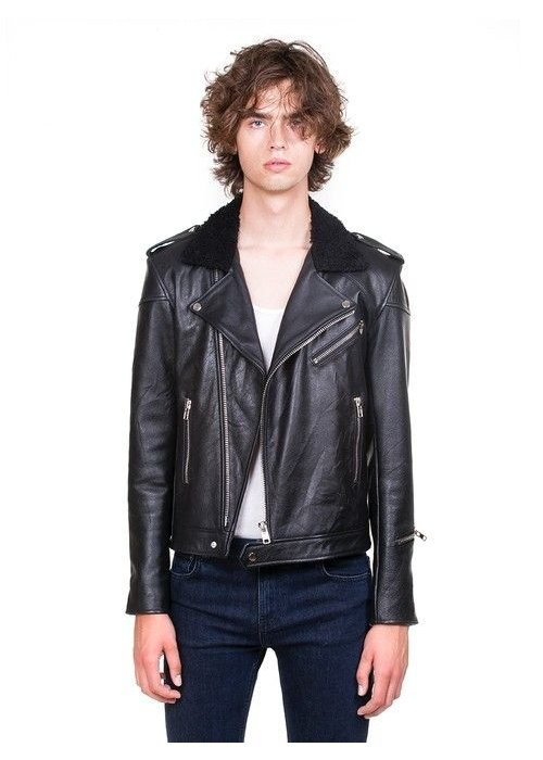 Deadwood Avery Jacket Black Leather