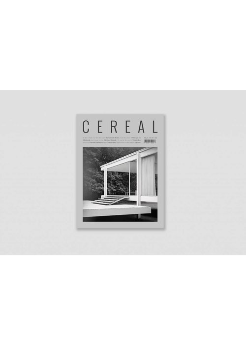 Cereal Magazine Travel & Style No. 14