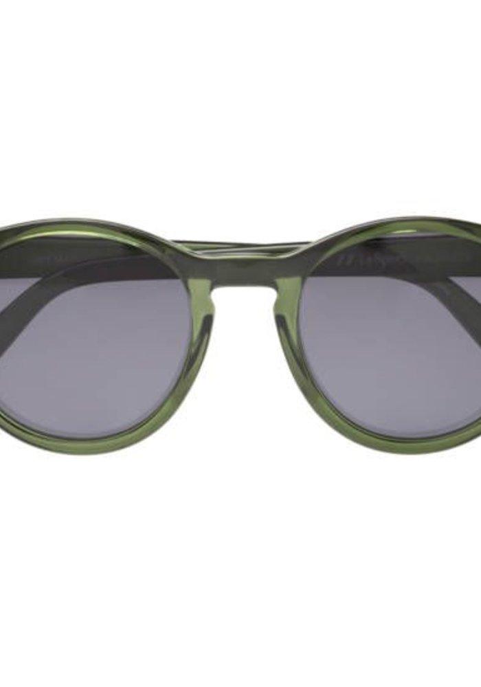 Le Specs Hey Macarena Green Smoke Polarize