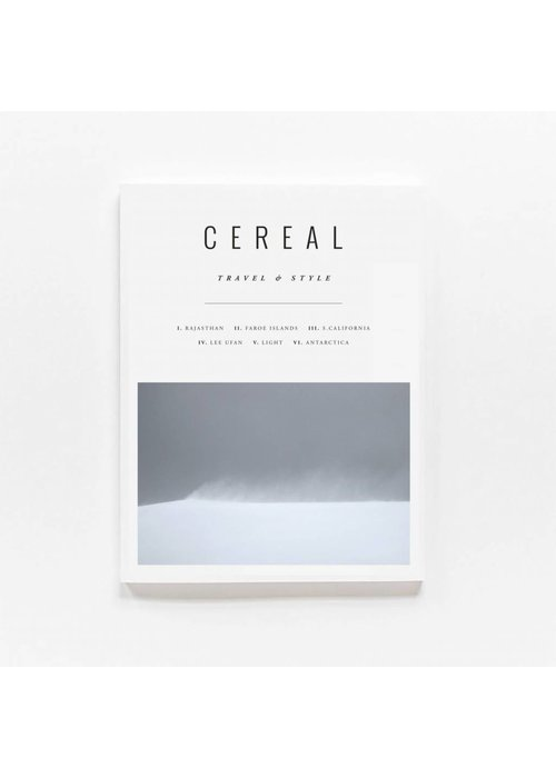 Cereal Magazine Travel & Style VOL. 12