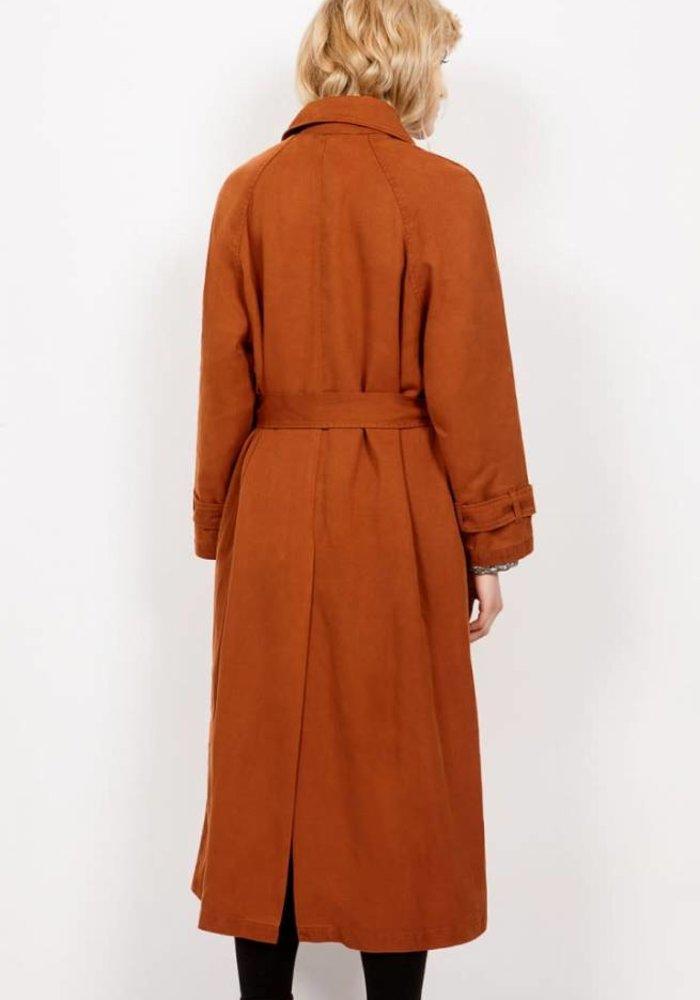Derinaroad Trenchcoat Vintage Orange