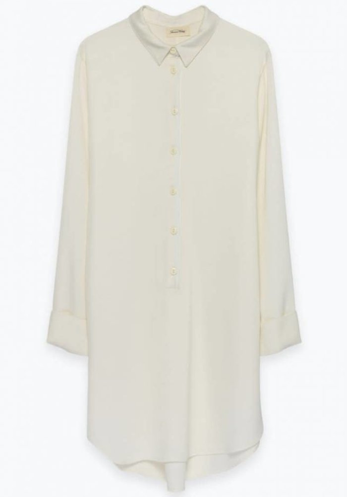 Arivagigi Long Shirt Off White