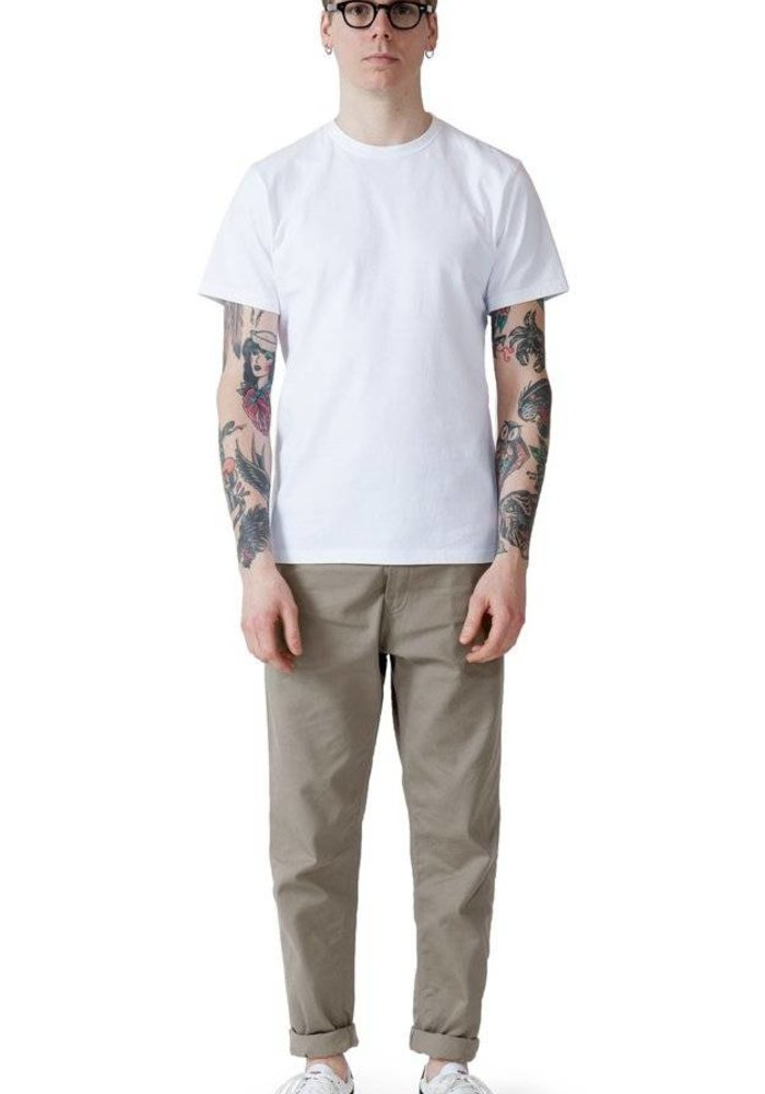 Richmond tee white 8 oz heavy cotton