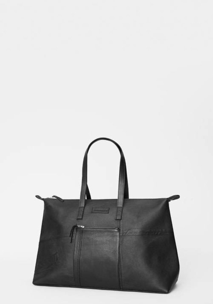 Recycled Leather Weekend Bag
