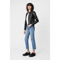 Nevada Black Leather Jacket
