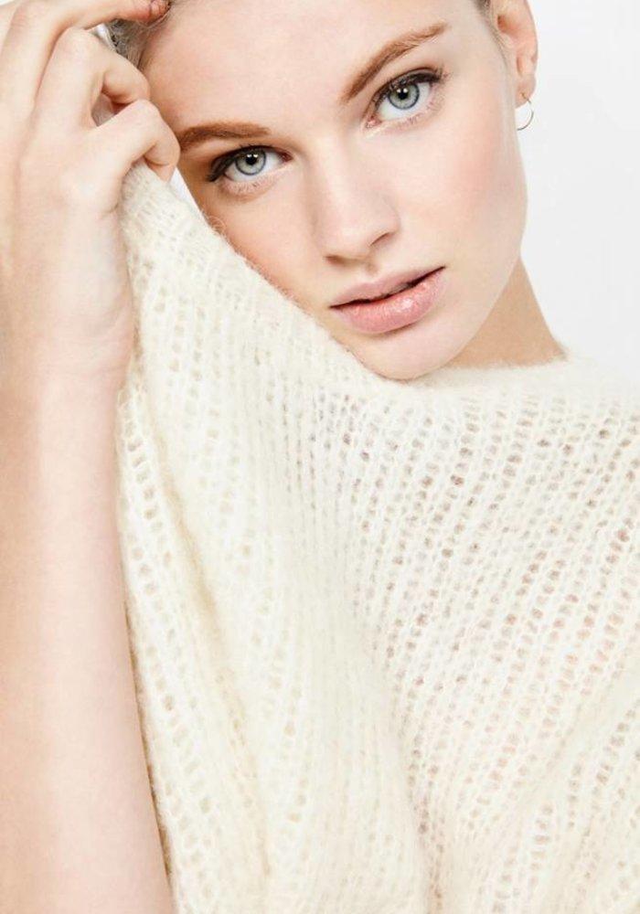 Siribay Knit Pearl White