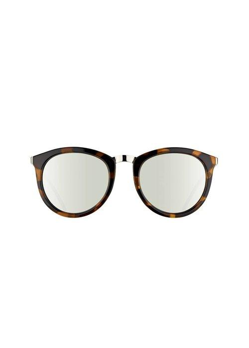 Le Specs No Smirking Crystal Rose Revo Mirror Lens