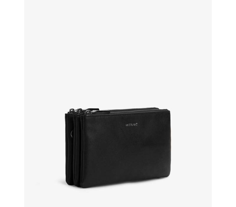 Triplet Crosbody Bag Black