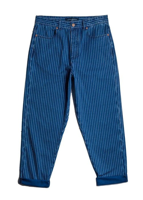 Natural Selection Pinstrippe Boxer Jeans