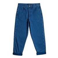 Pinstrippe Boxer Jeans
