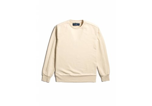 Natural Selection Linear Crew Sweat Ecru