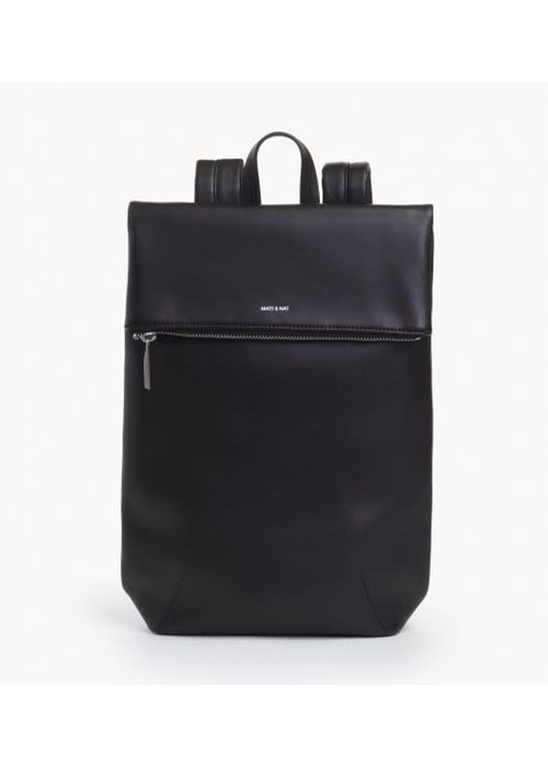 Matt & Nat Colton Flap Over Backpack Black
