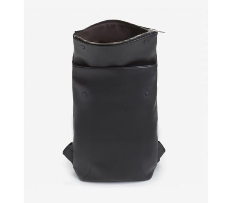Colton Flap Over Backpack Black