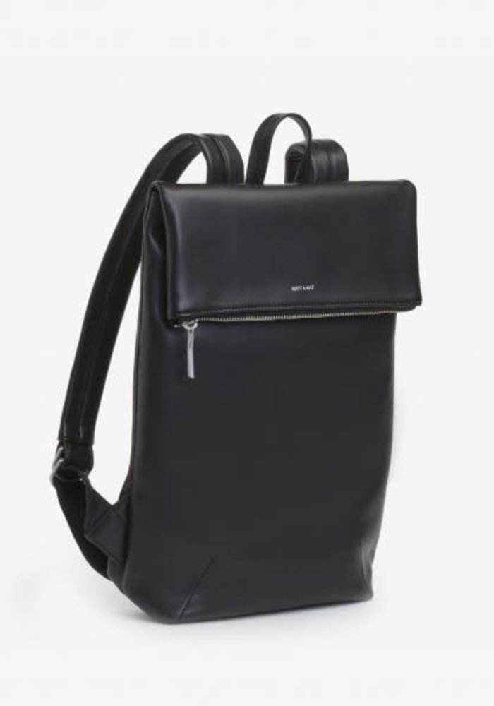 Colton Flap Over Backpack Black