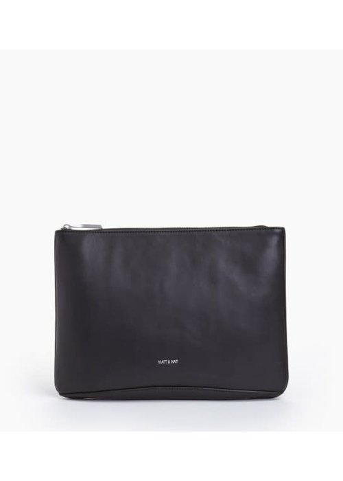 Matt & Nat Dwes Black Vegan Leather Clutch