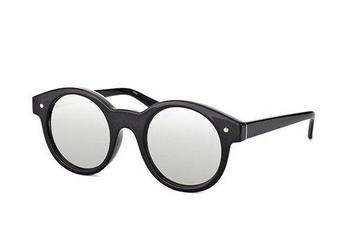 Le Specs Copy of No Smirking Leppard Silver Revo Mirror
