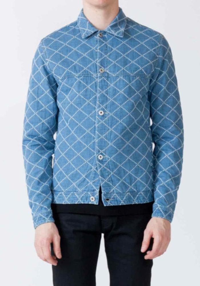 Martin Sashiko Sky Denim Jacket