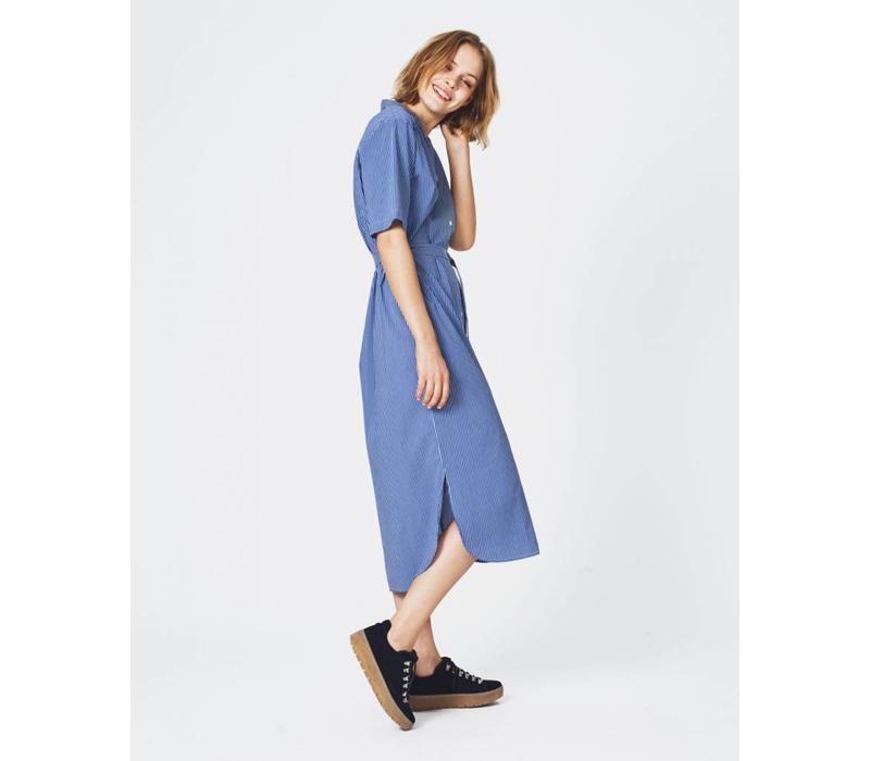 Memba Shirt Dress Blue