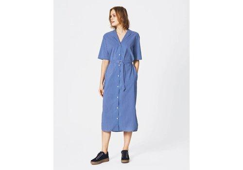 MOSS Copenhagen Memba Shirt Dress Blue