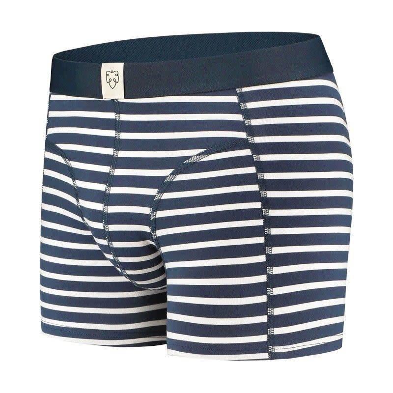 Nick Navy White Stripes-2