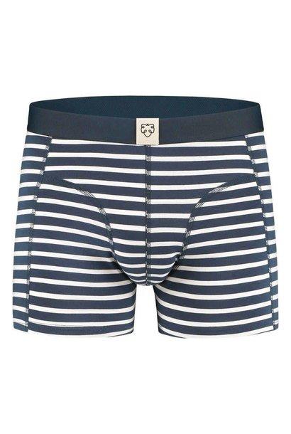 Nick Navy White Stripes