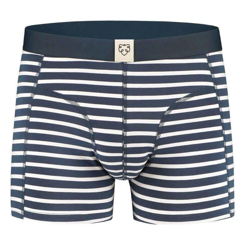 Nick Navy White Stripes-1