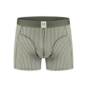 A-dam Jan Green Striped Boxershort