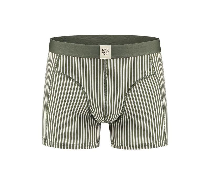 Jan Green Striped Boxershort