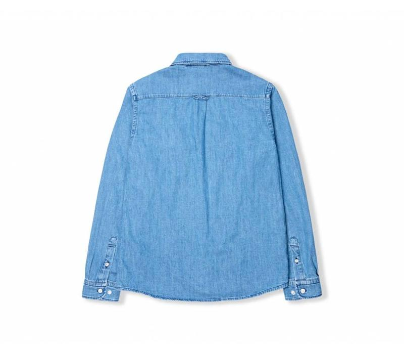 Better Denim Shirt Light Stone Wash