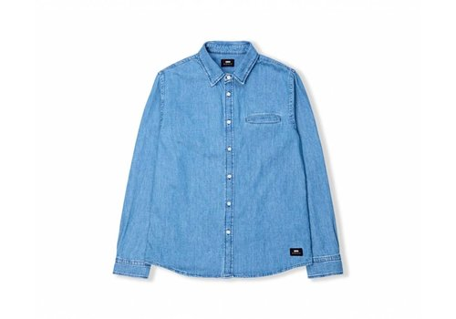 Edwin Jeans Better Denim Shirt Light Stone Wash
