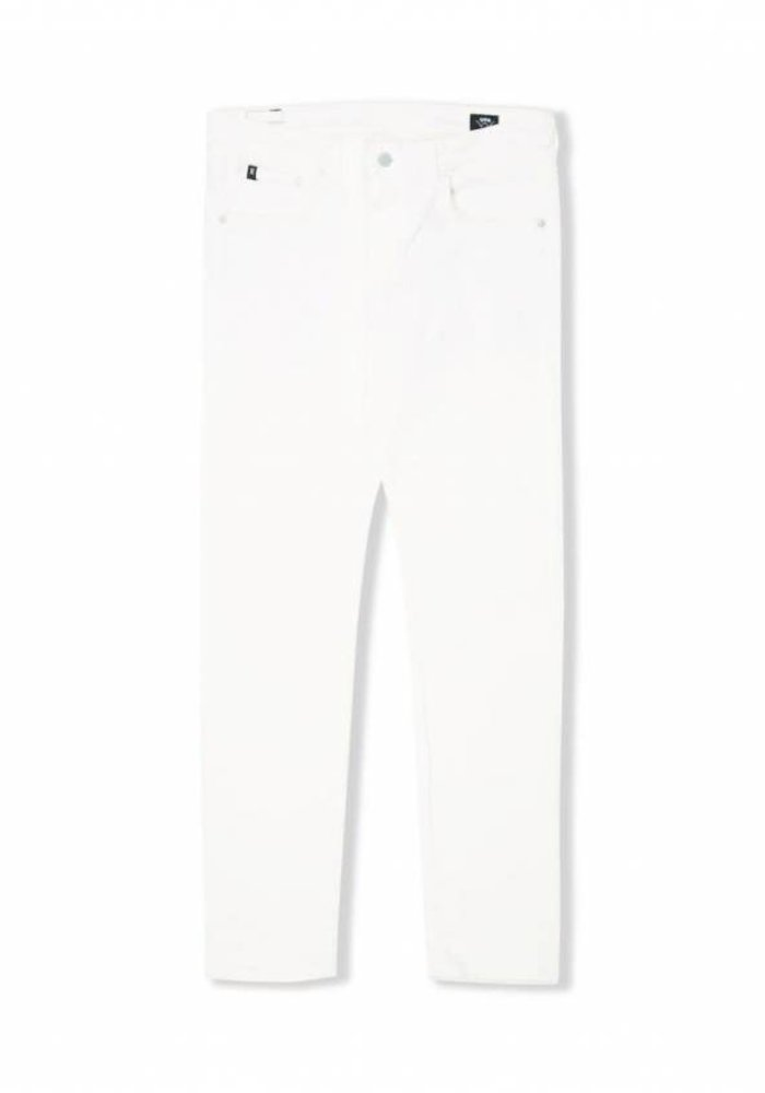 Modern Regular Tapered Off White Denim Rinsed
