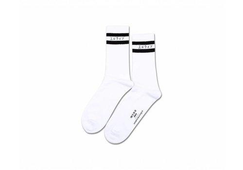 Edwin Jeans Edwin x Democratique Classic Socks White