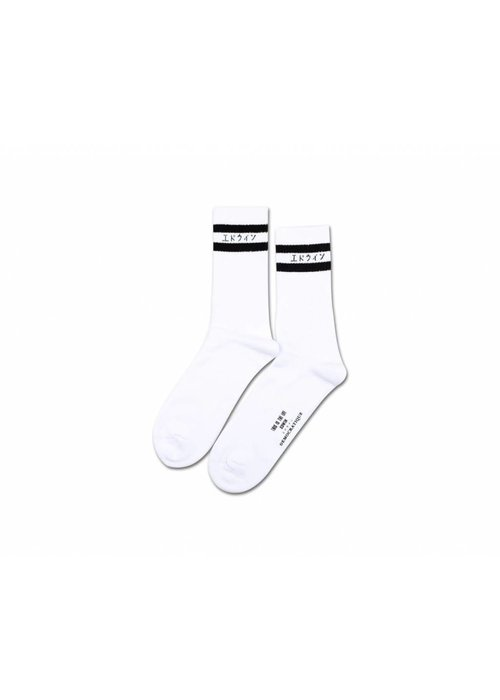 Edwin Jeans Edwin x Democratique Classic Socks White