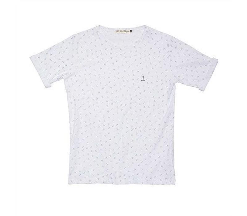 Embo Tee Spotted Navy