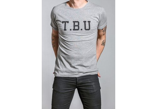 The Blue Uniform Johnny Tee TBU Grey Melange