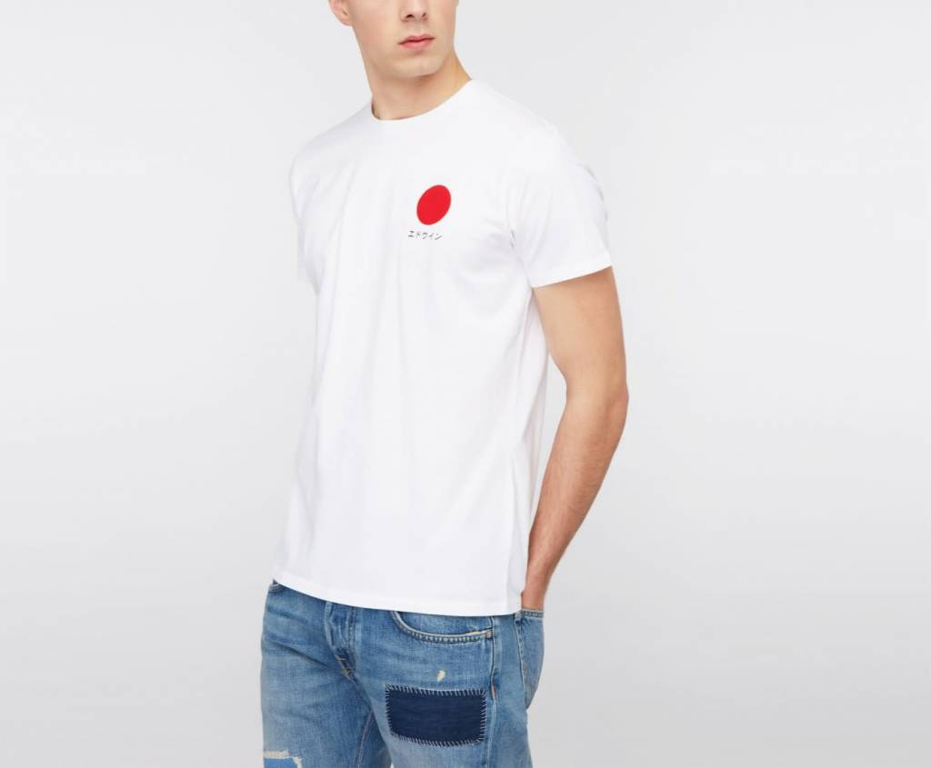 Japanse Sun Classic T-Shirt White-2