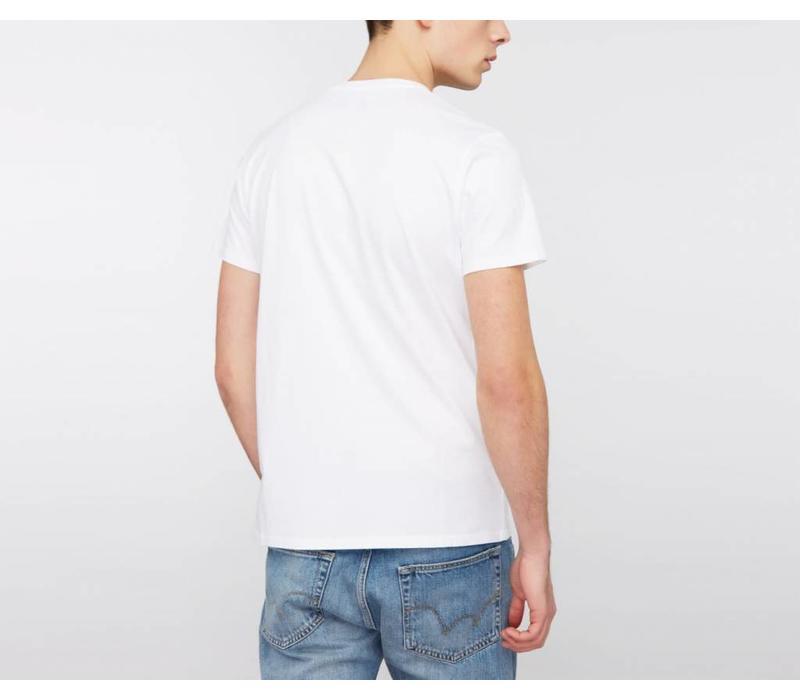 Japanese Sun Classic T-Shirt White